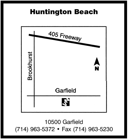 huntington beach map