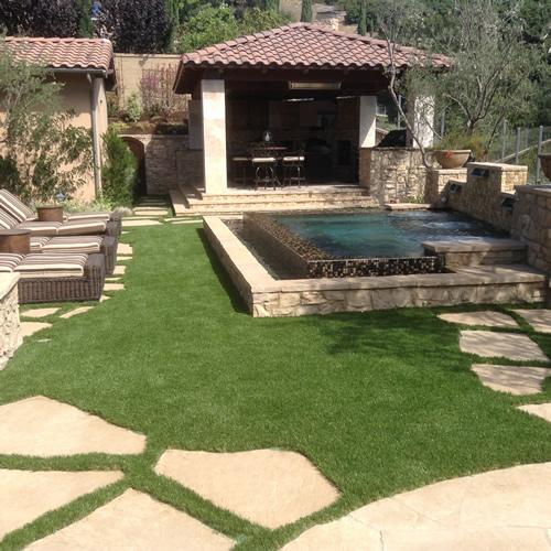 Full front yard