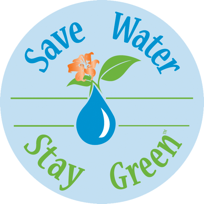 save water stay green landscape center